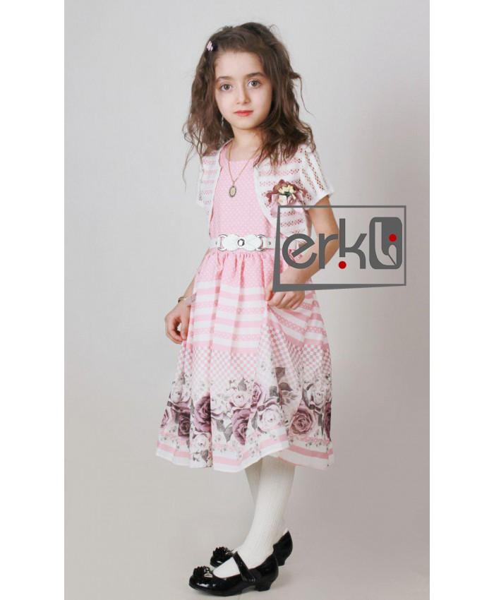 لباس مجلسی دخترانه مدل erikli-g5