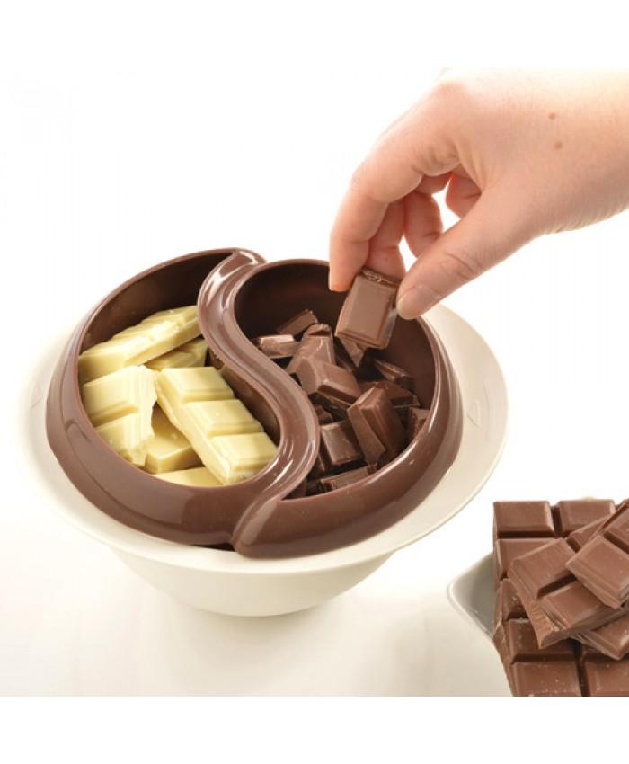 خرید پستی ظرف آب کردن شکلات