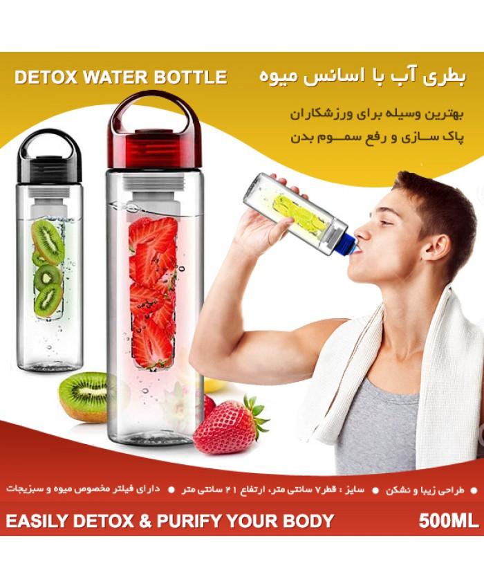 خرید بطری آب با اسانس  میوه دتاکس واتر detox water