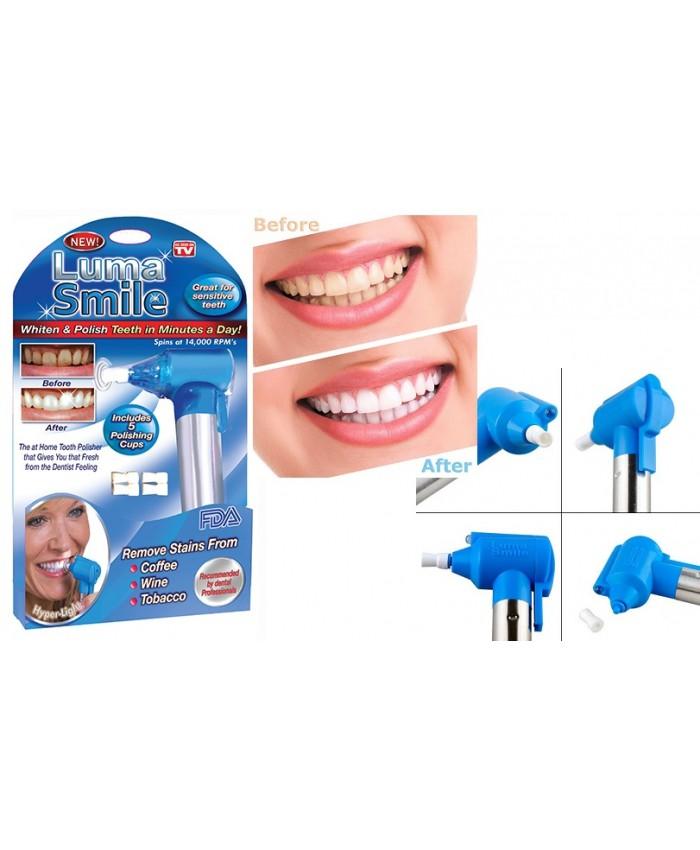 دستگاه سفید کننده و جرم گیر  دندان لوما اسمایل