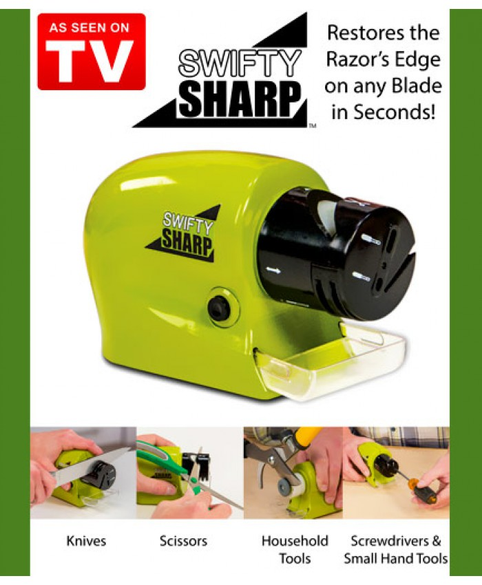 خرید چاقو تیز کن برقی سوئیفتی شارپ موتور دار حرفه ای دستی swifty sharp